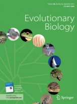 New paper in Evolutionary Biology